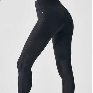 Fabletics Cashel Foldover PowerForm® Black Legging